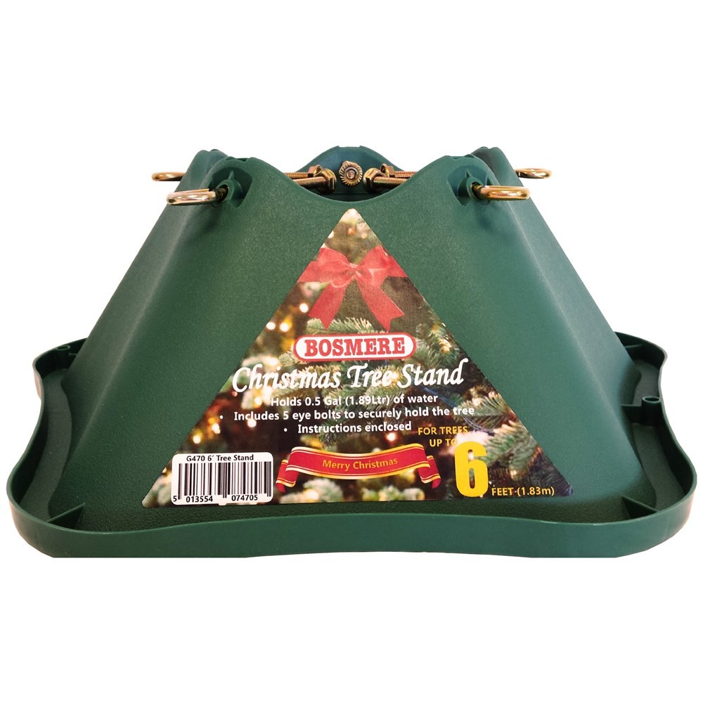 Bosmere Green Christmas Tree Stand 6ft Joyce S Home