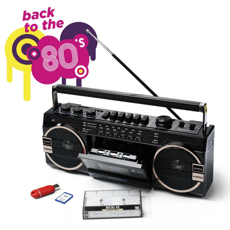 Ricatech Ghetto Blaster Back To The 80 S Joyce S Home