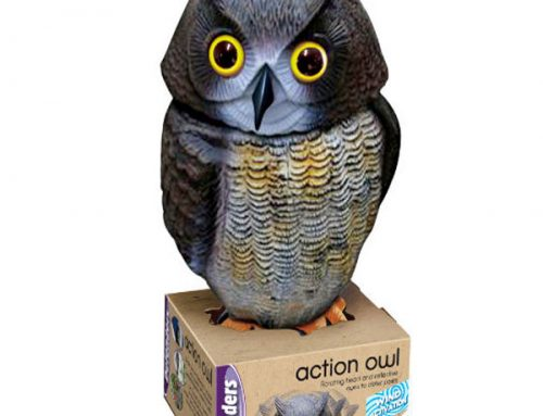 Wind Action Owl – Bird Scarcer €26.99